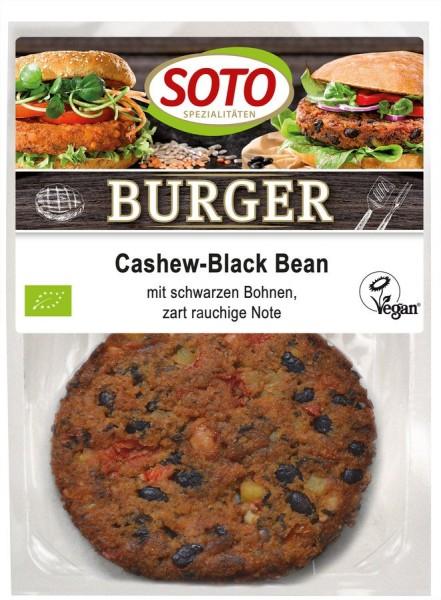 Burger Cashew-Black Bean vegan 2St, 160g