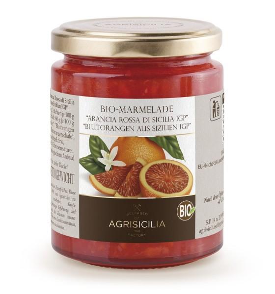 Blutorangen-Marmelade aus Sizilien, 360g