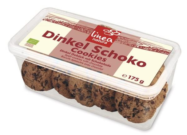 Dinkel Schoko Cookies - Mehrzweckdose, 175g