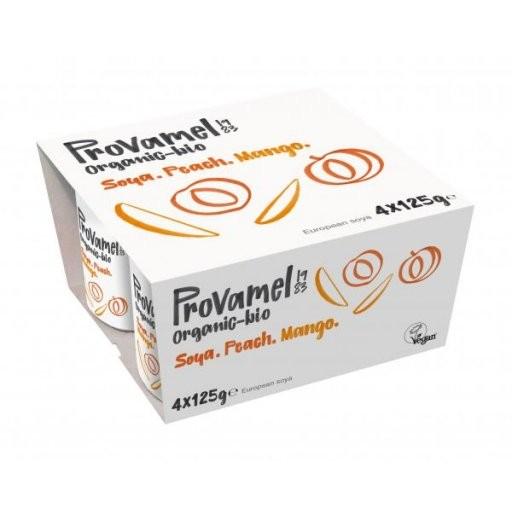 Soja-Jogurtalternative Pfirsich-Mango - 4er, 4x125g