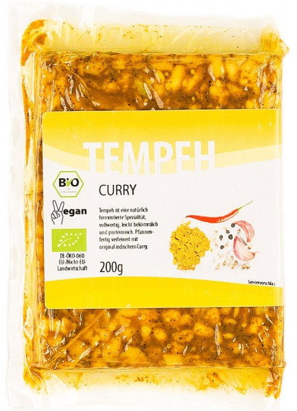 Tempeh Curry, 200g
