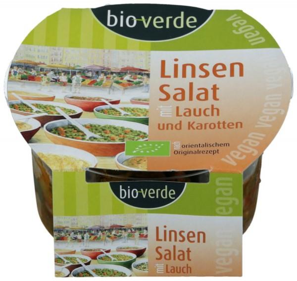 Linsen-Salat mit Lauch und Karotte vegan, 125g