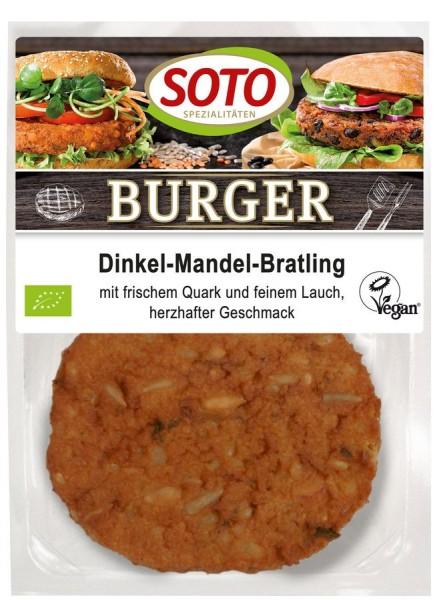 Burger Dinkel-Mandel-Bratling 2St, 200g