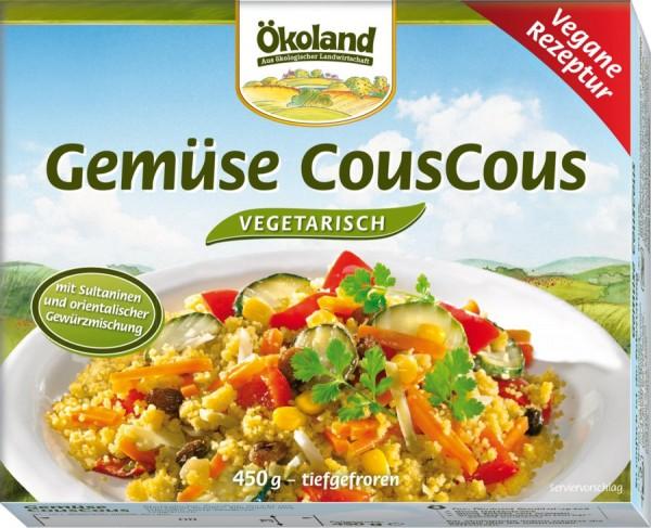 TK-Gemüsepfanne mit CousCous, 450g