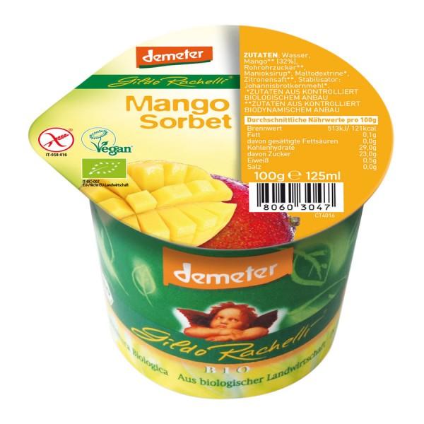 Eisbecher Mangosorbet DEMETER, 125ml