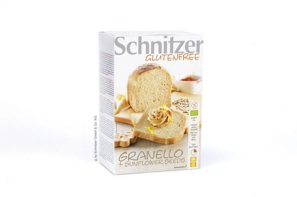 Aufbackbrot Granello mit SB-Kernen glutenfrei, 500g