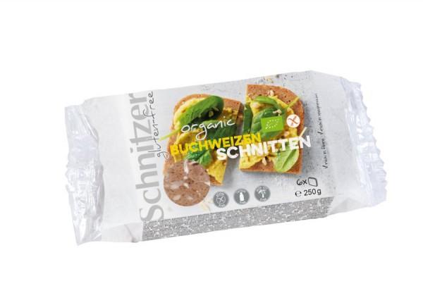 Buchweizenbrot glutenfrei geschnitten, 250g
