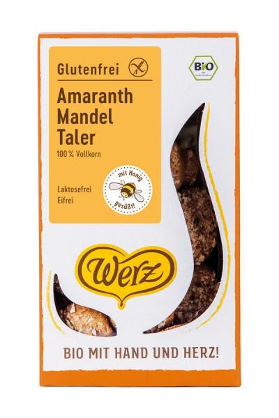 4-Korn-Amaranth-Mandel-Taler glutenfrei, 125g