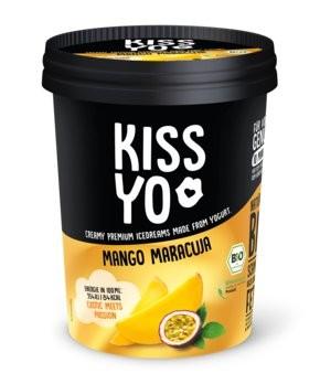 Familieneisbecher Joghurt-Mango-Maracuja KISSYO, 500ml