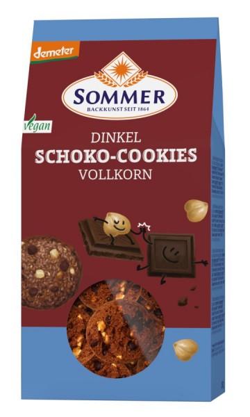 Dinkel-Schoko-Cookies DEMETER, 150g