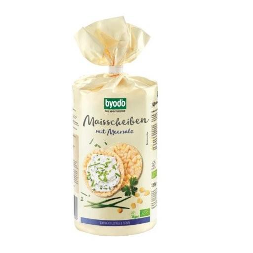 Maisscheiben mit Meersalz glutenfrei, 120g