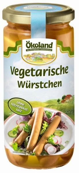 Würstchen vegetarisch 6St, 200g