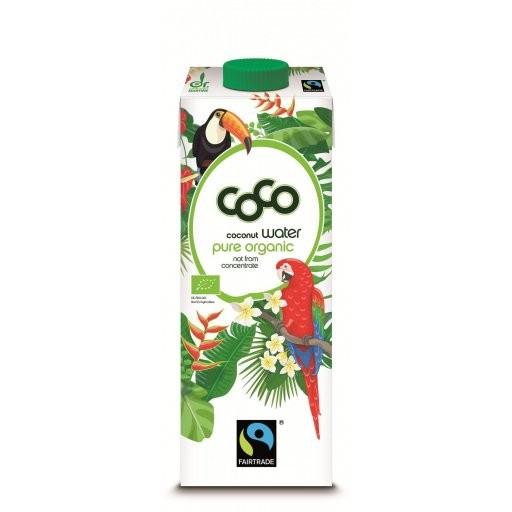 Kokoswasser pur FairTrade, 1,0l