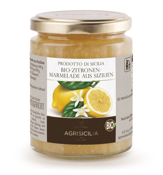 Zitronen-Marmelade aus Sizilien, 360g