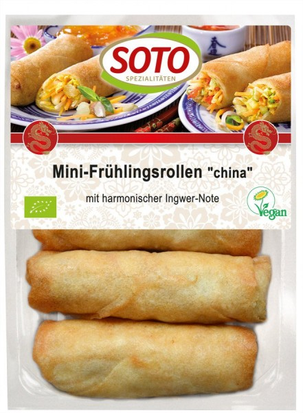 Mini-Frühlingsrollen China vegan 4St, 200g