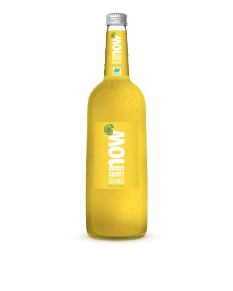 NOW Sunny Orange glutenfrei NATURLAND, 0,75l