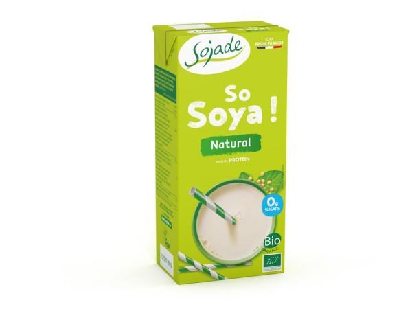 Sojadrink natur - Soja aus französischem Anbau, 1.0l