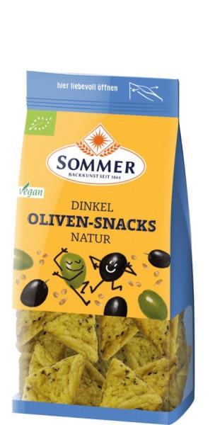 Dinkel-Oliven-Snacks natur, 150g