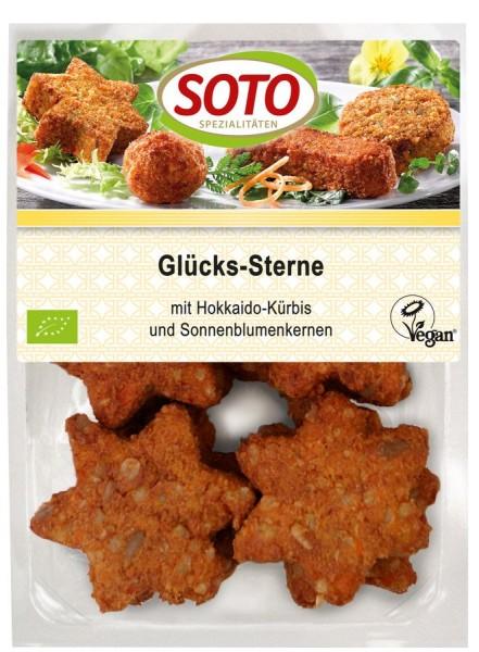 Glücks-Sterne mit Kürbis & Tofu vegan 8St, 250g