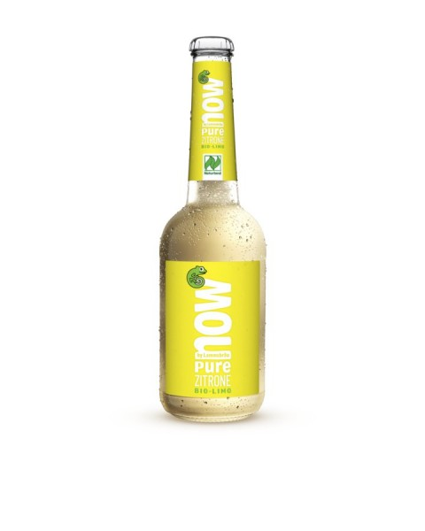 NOW Pure Zitrone glutenfrei NATURLAND, 0,33l