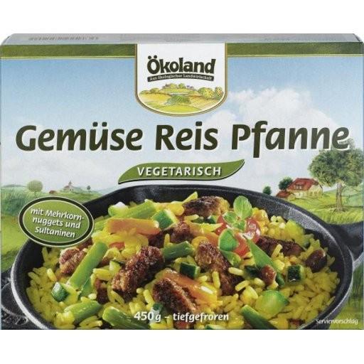 TK-Gemüsepfanne mit Reis, 450g