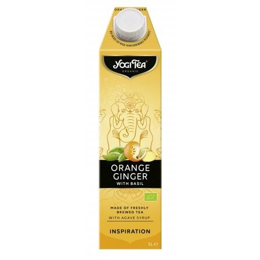 YOGI TEA Orange-Ingwer - TetraPak, 1,0l
