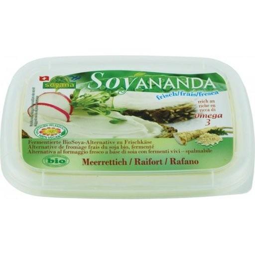 Soyananda Frischkäse-Alternative Meerrettich, 140g