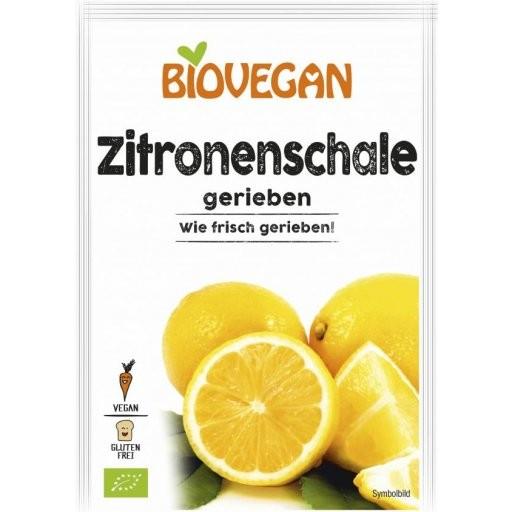 Zitronenschale gerieben glutenfrei, 9g