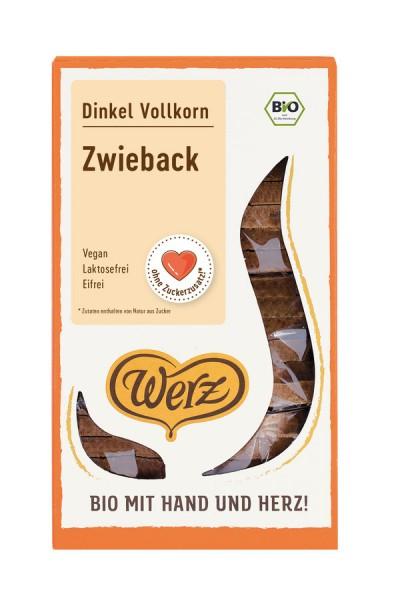 Dinkel-Vollkorn-Zwieback ungesüßt, 175g