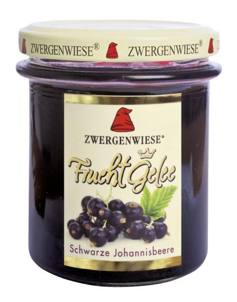 Fruchtgelee Johannisbeere schwarz glutenfrei, 195g