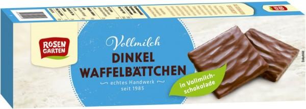 Dinkel-Waffelblättchen Vollmilch, 125g