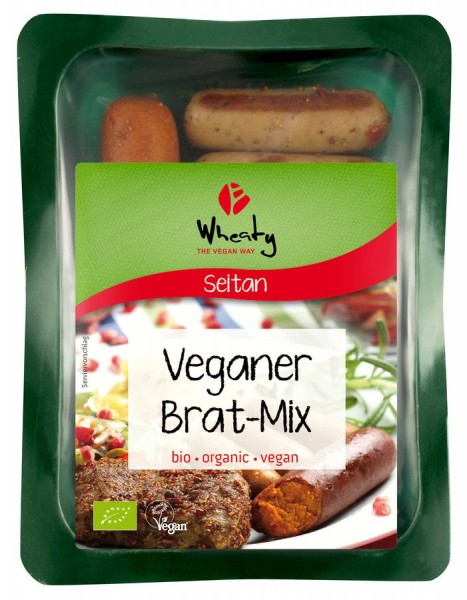 WHEATY Vegan Brat-Mix, 200g