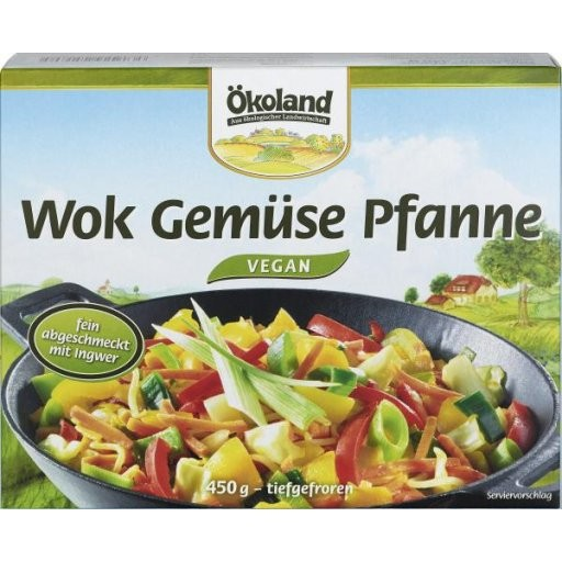 TK-Wok-Gemüsepfanne mit Ingwer, 450g