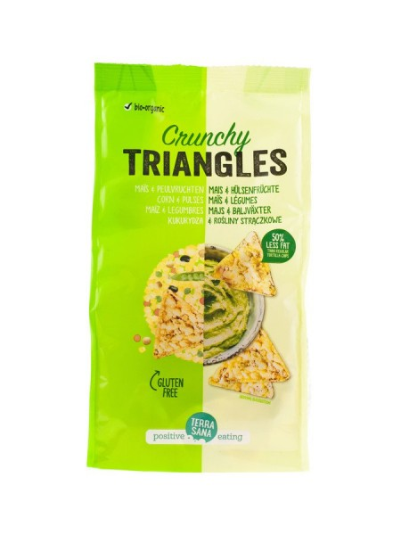 Triangles Mais & Hülsenfrüchte, 80g