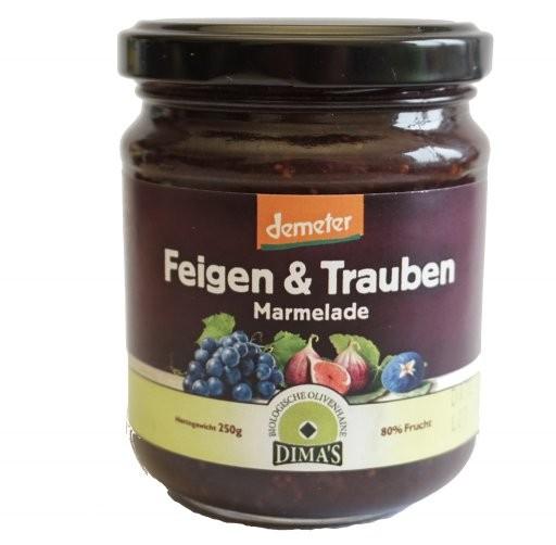 Feigen-Trauben-Marmelade DEMETER, 250g