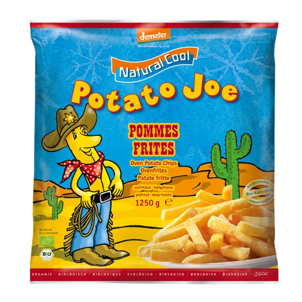 TK-Pommes Frites DEMETER Potato Joe, 1250g