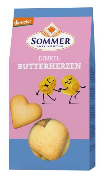 Dinkel-Butterherzen DEMETER, 150g