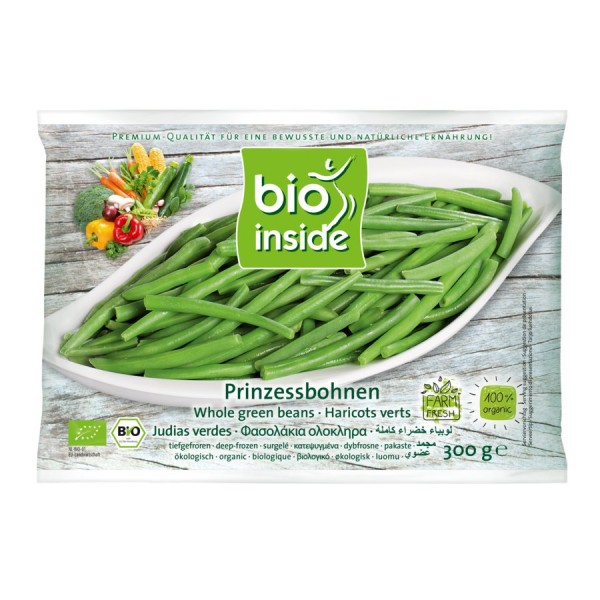 TK-Prinzessbohnen bio-inside, 300g