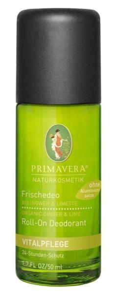 Frische-Deo Ingwer-Limette, 50ml