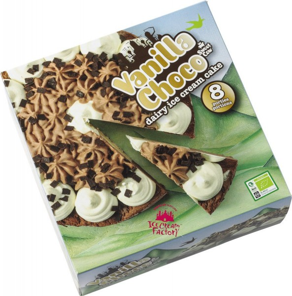 Eistorte Schokolade & Vanille, 1000ml