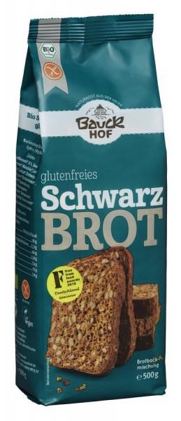 Brotbackmischung Schwarzbrot glutenfrei, 500g