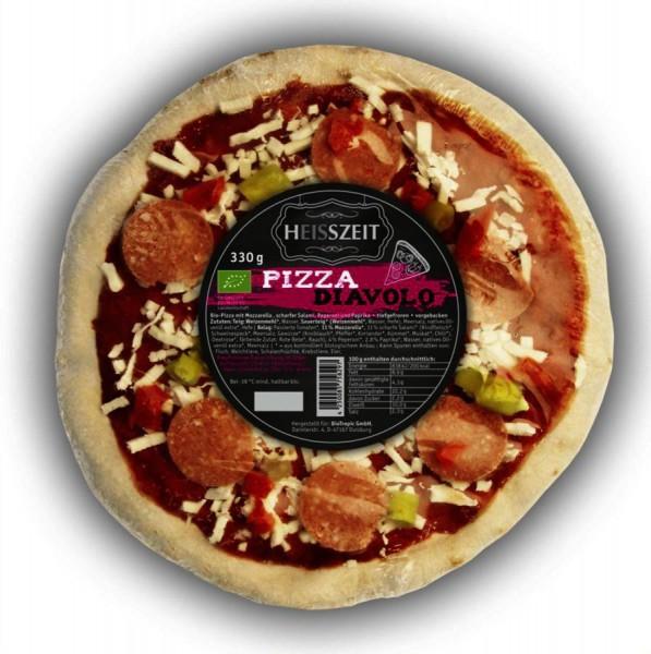 TK-Steinofen-Pizza Diavolo Heisszeit, 330g
