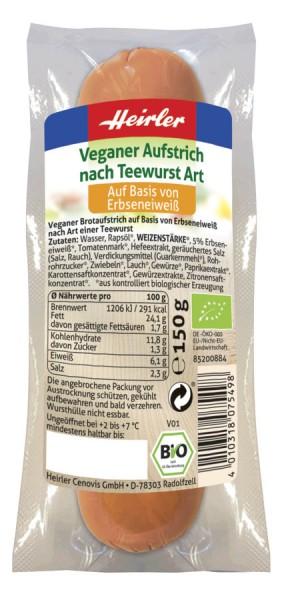 Veganer Aufstrich nach Teewurst Art 1St, 150g