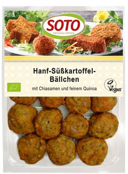 Hanf-Süßkartoffel-Bällchen 15St, 180g