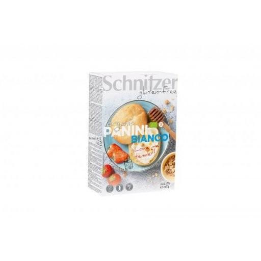 Panini bianchi glutenfrei 2x2St, 250g
