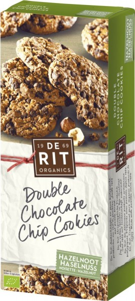 Double Chocolate Chip Cookies Haselnuss, 175g