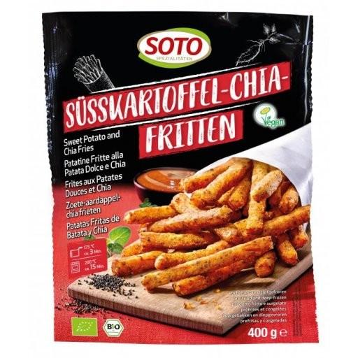 TK-Süßkartoffel-Chia-Fritten, 400g