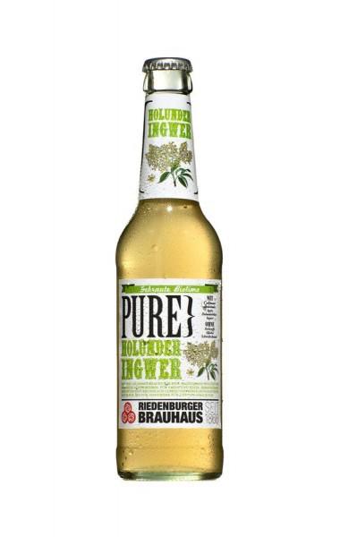 PURE Holunder-Ingwer BIOLAND, 0,33l