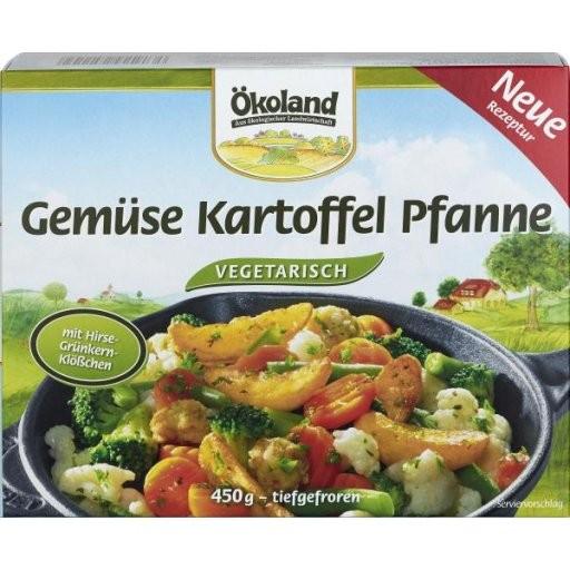 TK-Gemüsepfanne mit Kartoffeln, 450g