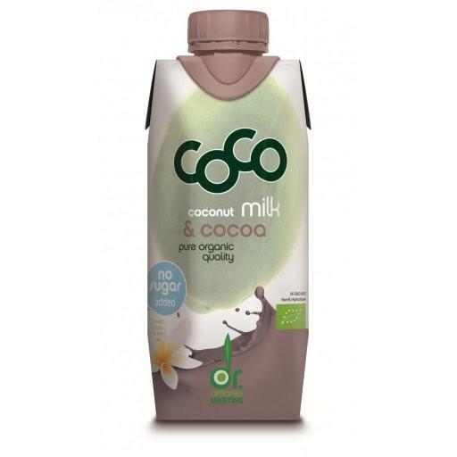 CoCo Milk for Drinking mit Kakao - Tetrapak, 330ml